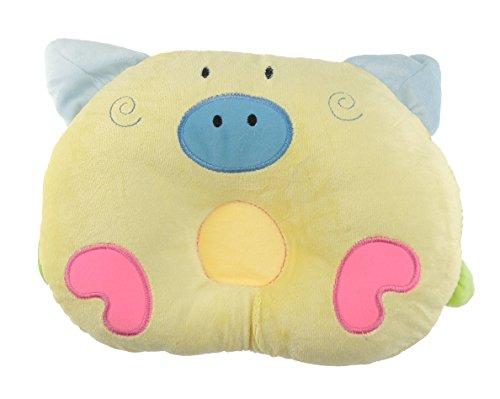 Süße Neugeborene Baby Mädchen Jungen Weiches Mikrofaser Baby Lagerungskissen Kissen Piggy (Süße Baby-dusche-ideen)