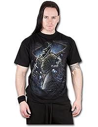Winged skelton - T-shirt gothique dark fantasy - Homme-L