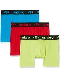 Umbro Packx3, Boxer Homme, (lot de 3 )