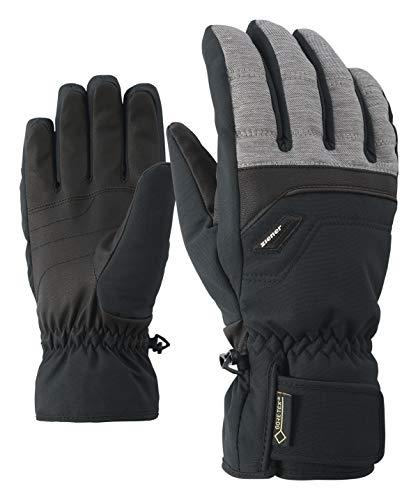 Ziener Herren Glyn GTX(R)+Gore warm Glove ski Alpine Handschuhe, Dark Melange, 8