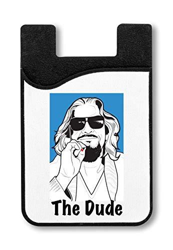 365f0be50 The Dude Smoking T-Shirt Titular de la Tarjeta de crédito para Smartphone