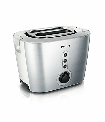 philips hd2636 00 toaster aus edelstahl 1000 w mit br tchenaufsatz silb hd2636 00 philips. Black Bedroom Furniture Sets. Home Design Ideas