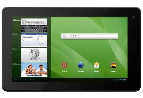 Odys Select 7 17,8 cm (7 Zoll) Tablet-PC (TFT Touchpanel, 1.6 GHz Dual Core, 1 GB RAM, 8 GB HDD, WLAN, HDMI, Android 4.1.x) schwarz