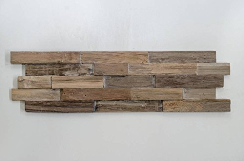 Holzverblender 3D Wood Panel Lock smoke kein FSC !
