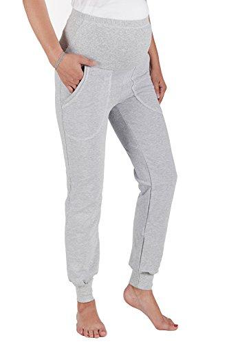 JANDAZ ® uMSTANDSMODE cOTON paNTALON dE sURVÊTEMENT à cAPUCHE eT à aCHETER sÉPaRÉMENT oU eN aSSOCIATION Multicolore - Mehrfarbig - Trousers With Pockets-Grey Melange