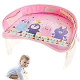 WDXIN Kinder Play Tray Spiel Sicherheit Bequem und praktisch Wasserdicht Multifunktional Geeignet für Autositze, Kinderwagen,C,Ordinary
