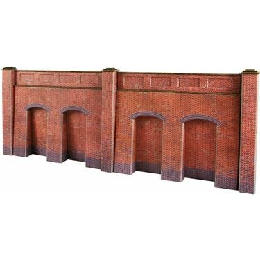 metcalfe-models-po244-oo-ho-scale-retaining-walls-red-brick-style-by-metcalfe-models