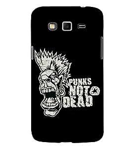 Fuson Designer Back Case Cover for Samsung Galaxy Grand Neo Plus I9060I :: Samsung Galaxy Grand Neo+ (Punks not dead theme)