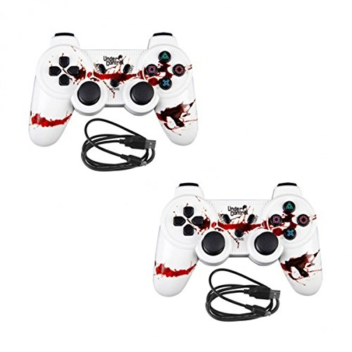 Pack 2x Under Control Controller vibrierende PS3Bluetooth Zombie Playstation