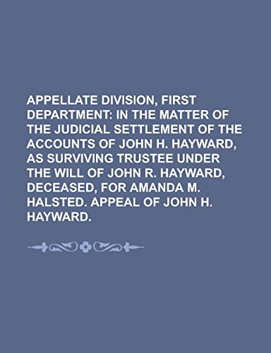 Appellate Division, First Department