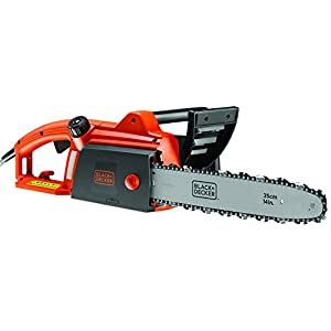 Black + Decker CS1835 QS Corded Electric 14-Inch 1800W Chainsaw Guide