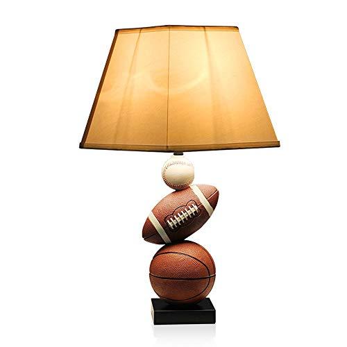 Amerikanischen Kreativen Basketball Kinderzimmer Schreibtisch Licht Kreative Sport Kinder Harz Tischlampe Club Schule Schlafzimmer Dekoration Desktop Leuchte - Deckenventilatoren Hampton