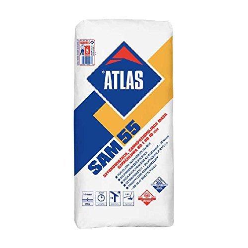 ATLAS SAM 55 - Ausgleichsmasse schnellbindende selbstnivellierende Spachtelmasse 1 – 10 mm