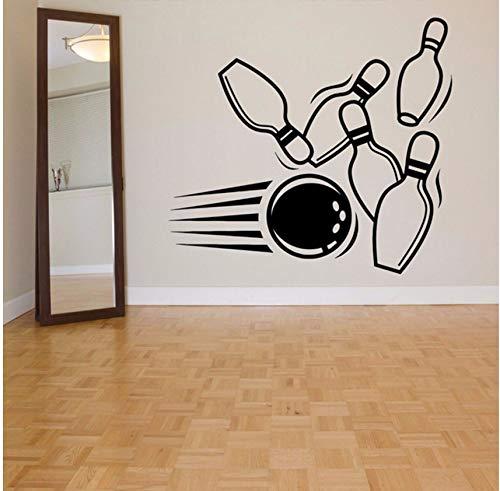 ll Alley Wandaufkleber Für Sport Wohnzimmer Tapete Kunst Decor Vinyl Wandtattoos Hintergrund Zitate 48X42 Cm ()