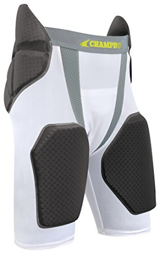 Preisvergleich Produktbild Champro Tri-Flex Football Girdle - 5 Pads, Youth Small