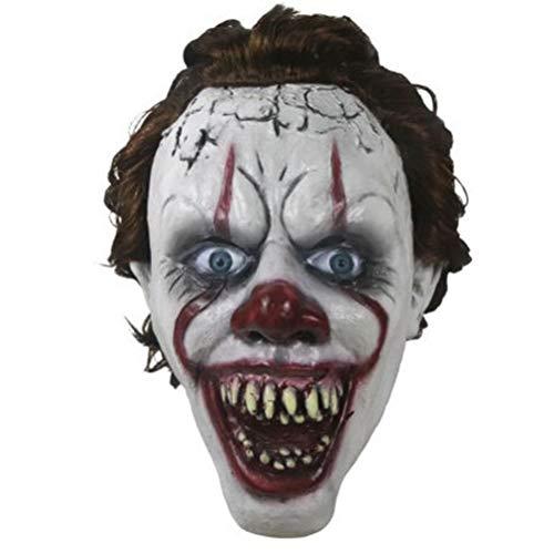 Halloween Horror Overhead Clown Maske Halloween Kostüm Party Maske Gruselig beängstigend dekorative - Home Made Clown Kostüm