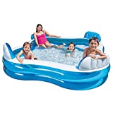 Intex Swim Centre Family Pool with Seats 56475NP, 229 x 229 x 66 cm(Multi-color)