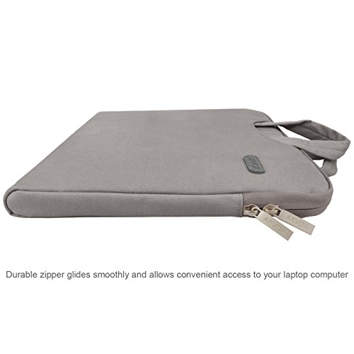 ARVOK 1717.3 Pouces Housse avec Poignée pour Ordinateur Portable Sacoche  Pochette PC en Toile de Protection Ordinateur pour Macbook Pro ... 37897b8d64f0