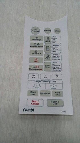 Microwave Oven Membrane Keypad . ABLE. Model No - C103FL White