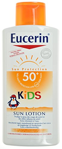 Kids sun fluid sensitive protect spf50+ eucerin