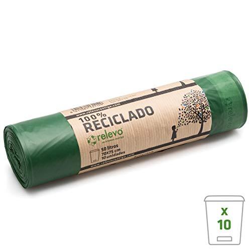 Relevo 100% Reciclado Bolsas de Basura
