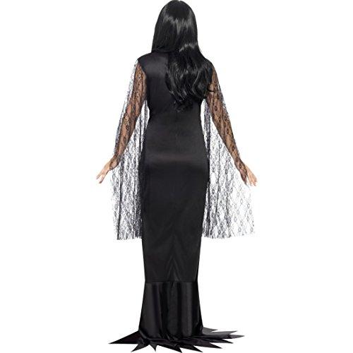Dark Lady Faschingskostum Schwarze Witwe Kostum L 44 46 Outfit