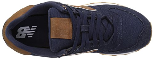 New Balance Herren 574 15 Ounce Canvas Sneakers Blau (Navy)