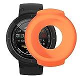 Gaddrt Uhr Schutzhülle, Weiche TPU-Schutzhülle aus Silikon für Huami Amazfit Verge Smart Watch (Orange)