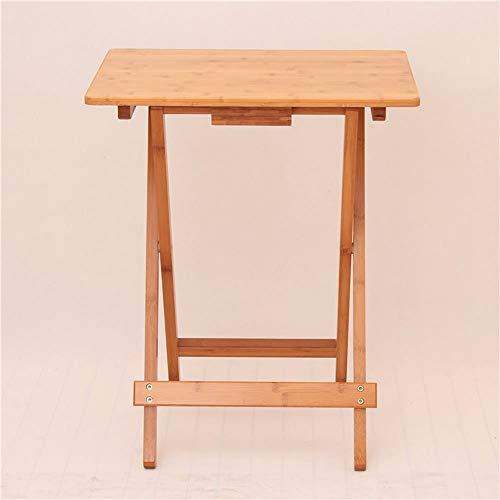 Tragbaren Laptop-schreibtisch (AFDK Klapptische Quadratischen Tisch Einfachen Kleinen Tisch Tragbaren Tisch Laptop Schreibtisch Im Freien Massivholztisch (Optionale Größe),50 * 36,5 * 62 cm)