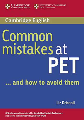 Common Mistakes at PET