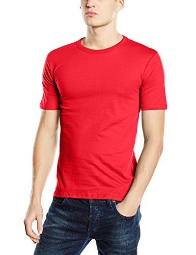 Stedman Apparel Herren T-Shirt Morgan (Crew Neck)/st9020 Premium Rot - Scharlachrot