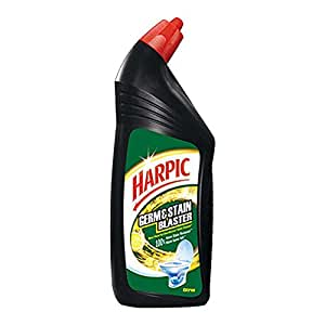 Harpic Germ and Stain Blaster Toilet Cleaner (Citrus) - 750 ml