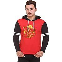 Shaun Men's T-Shirt T-Shirt (135mts1-r_g42_Red_Large) Pack of 1