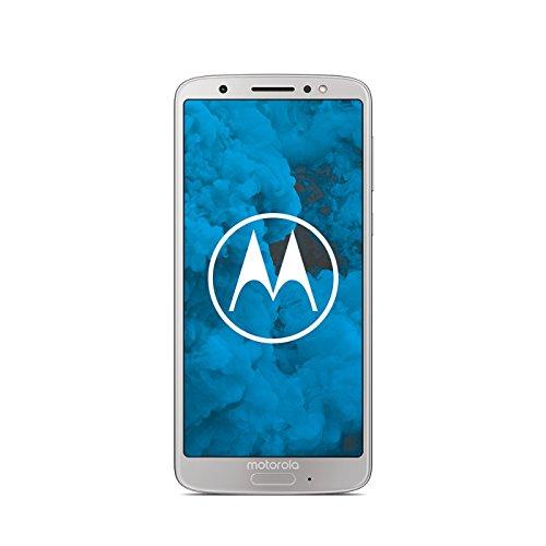 Motorola Moto G6 64GB - Smartphone Libre Android (Pantalla DE 5.7'', 4G, cámara DE 12 MP, 4 GB de RAM, 64 GB, Dual Sim), Color Plata