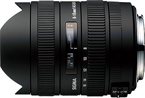Sigma 8-16mm F4,5-5,6 DC HSM-Objektiv für Nikon Objektivbajonett