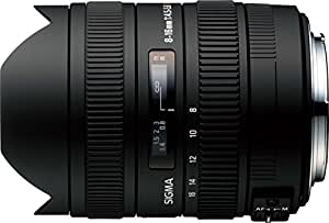 Sigma 8-16mm f4.5-5.6 DC Lens for Nikon Digital SLR Cameras with APS-C Sensors