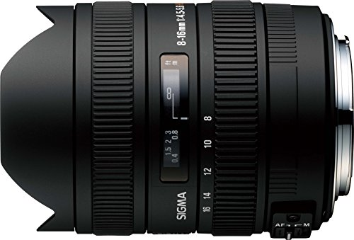 Sigma Obiettivo 8-16mm F/4.5-5.6 DC HSM AF, attacco Nikon