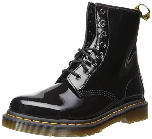 Dr. Martens Damen 1460 Paten Boots, Schwarz (Black), 42