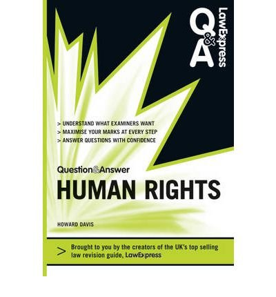 Law Express Question and Answer: Human Rights (Q&A Revision Guide) (Law Express Question & Answer) (Paperback) - Common