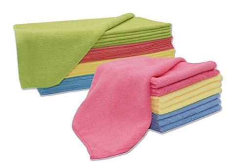 ZOLLNER® set di 9 oppure di 24 panni per pulire / strofinacci da ...