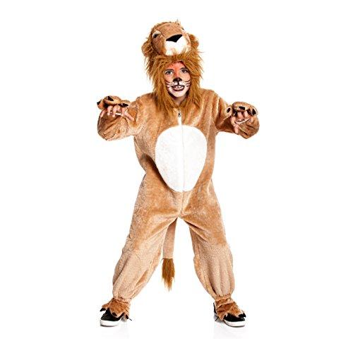 Kostümplanet® Löwen-Kostüm Kinder-Kostüm Löwe Junge + Mädchen Klein-Kind Karneval Größe (Löwe Kostüm Kleinkind)