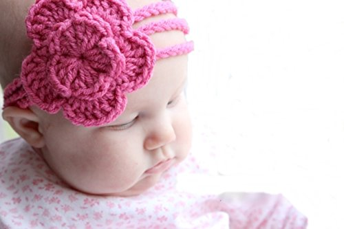 Crochet Baby Headband Hairband for 3 to 6 Months Baby  available at amazon for Rs.99