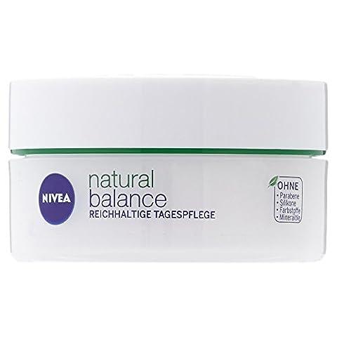Nivea Natural Balance Reichhaltige Tagespflege, 1er Pack (1 x 50 ml) (Cellular Tagescreme)