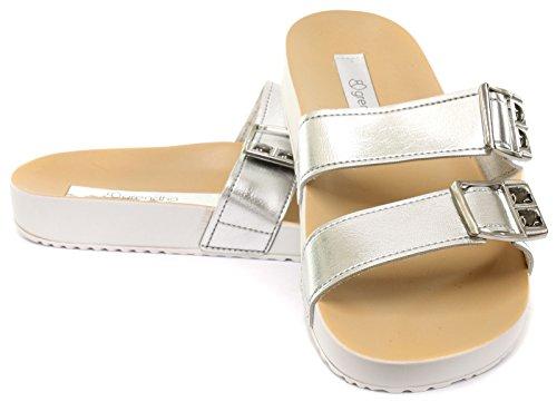 Grendha Brasil Essence Femme Sandales silver