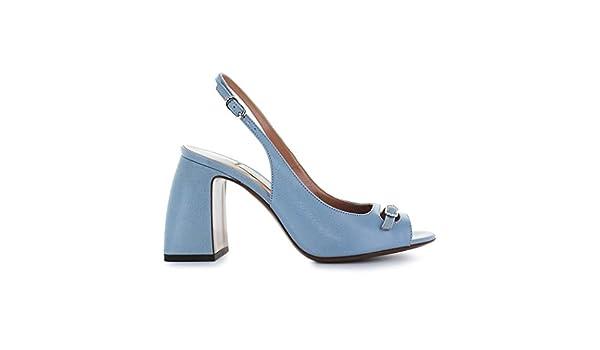 L Autre Chose Chaussures Femme Sandale Slingback Bleu Clair Printemps-été  2018  Amazon.fr  Chaussures et Sacs 75e0f0756c39