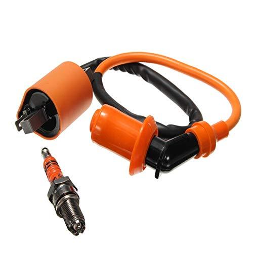 Alamor Candela accensione 3 elettrodi Candela Cg125 150 200 250 / CB Cbd per ATV Prestazioni per Moto da Competizio