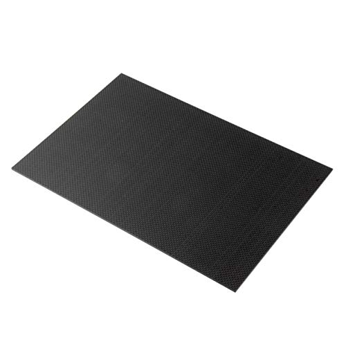 Banbie8409 Plattenverkleidung, 200 × 300 × 3 mm Carbon-Faserplatte Platten Blatt 3K Plain Weave