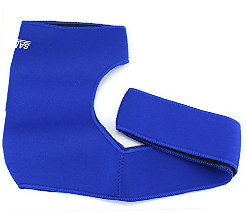 saysure-blue-single-shoulder-cutout-support-strap-band-for-outdoor-sports-gmn-bg-spt-000021