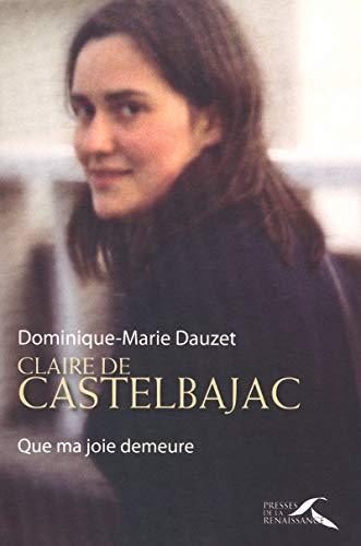 Claire de Castelbajac par Pr Dominique-Marie DAUZET