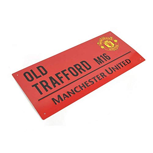 Football Team COLOUR Street Sign  Man Utd
